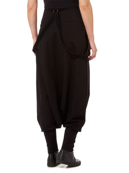 Sarah Pacini Sarouel Pants With Suspenders