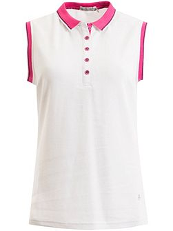 Faith Sleeveless Club Polo