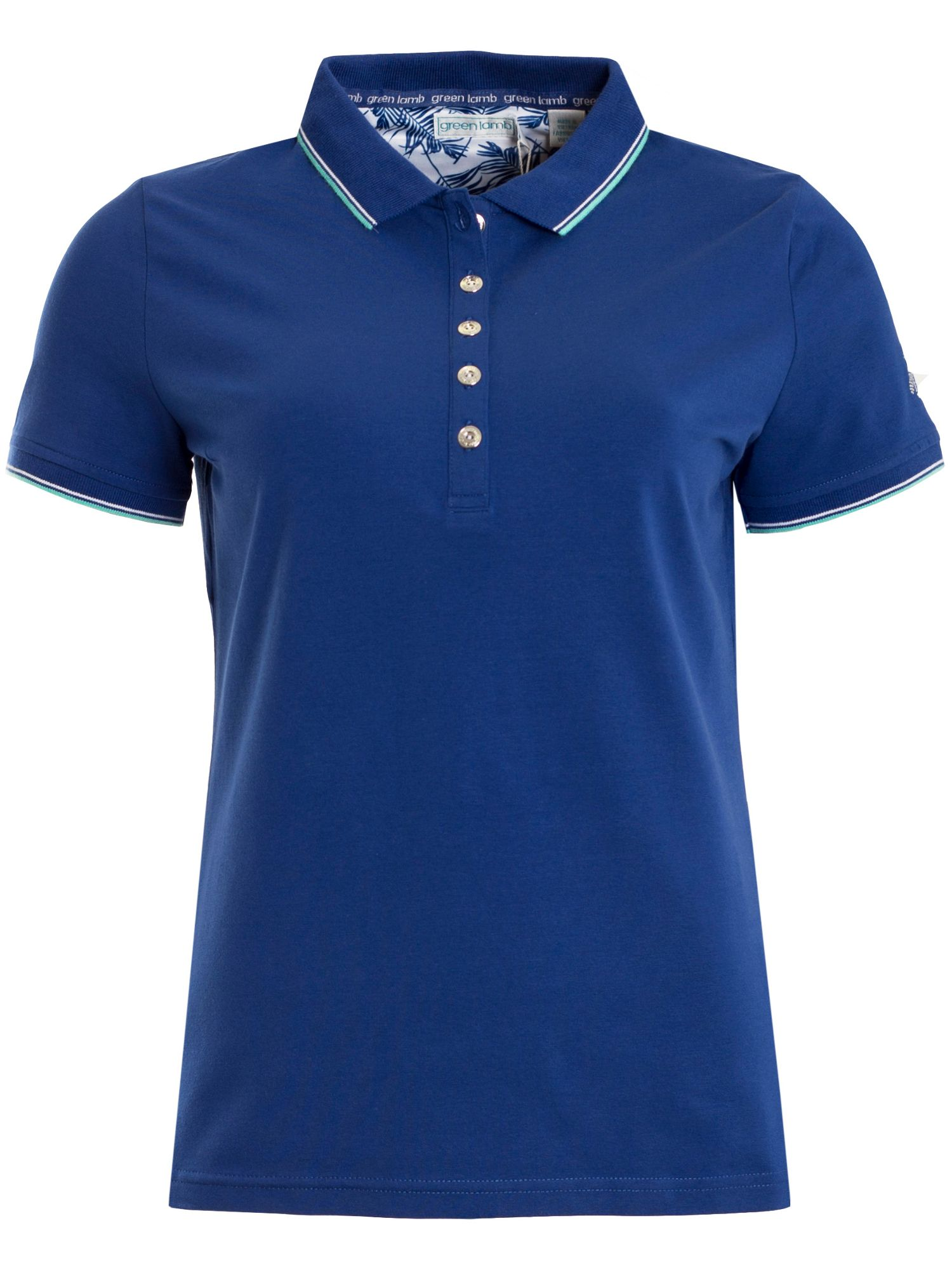 Green Lamb Patsy Jersey Club Polo, Airforce Blue