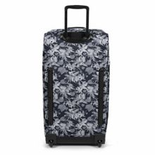 Eastpak Tranverz large black jungle wheeled suitcase