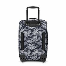 Eastpak Tranverz small black jungle wheeled suitcase