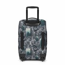 Eastpak Tranverz small escaping pines wheeled suitcase