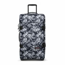 Eastpak Tranverz medium black jungle wheeled suitcase