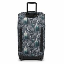 Eastpak Tranverz large escaping pines wheeled suitcase