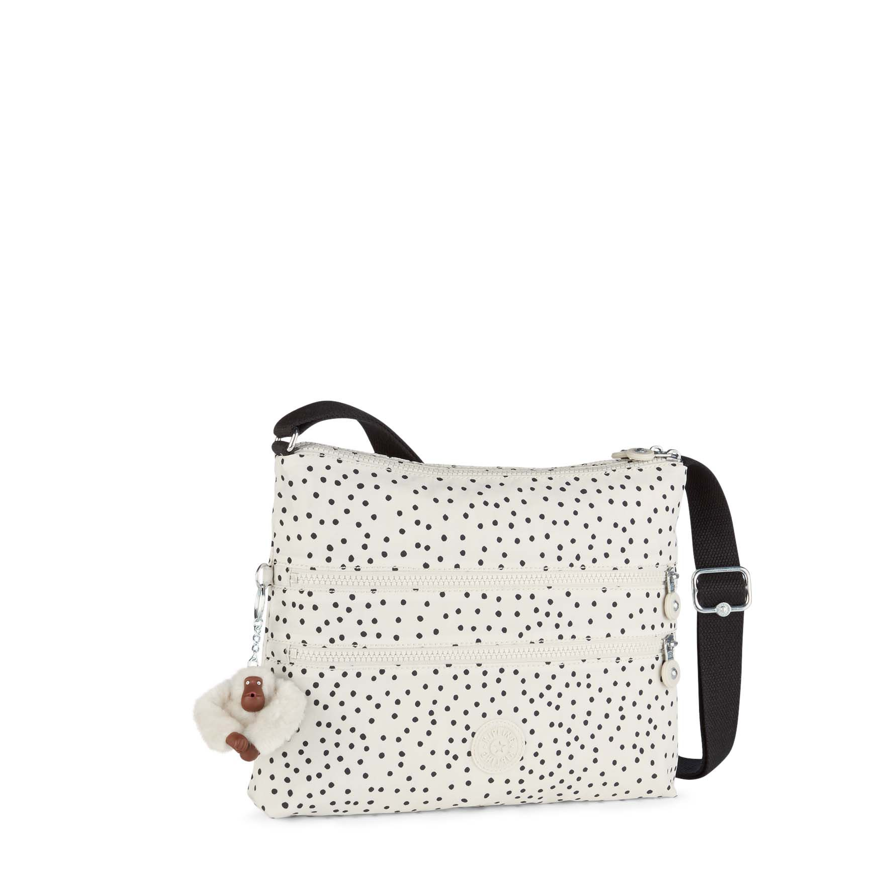 Kipling Alvar medium shoulder bag White