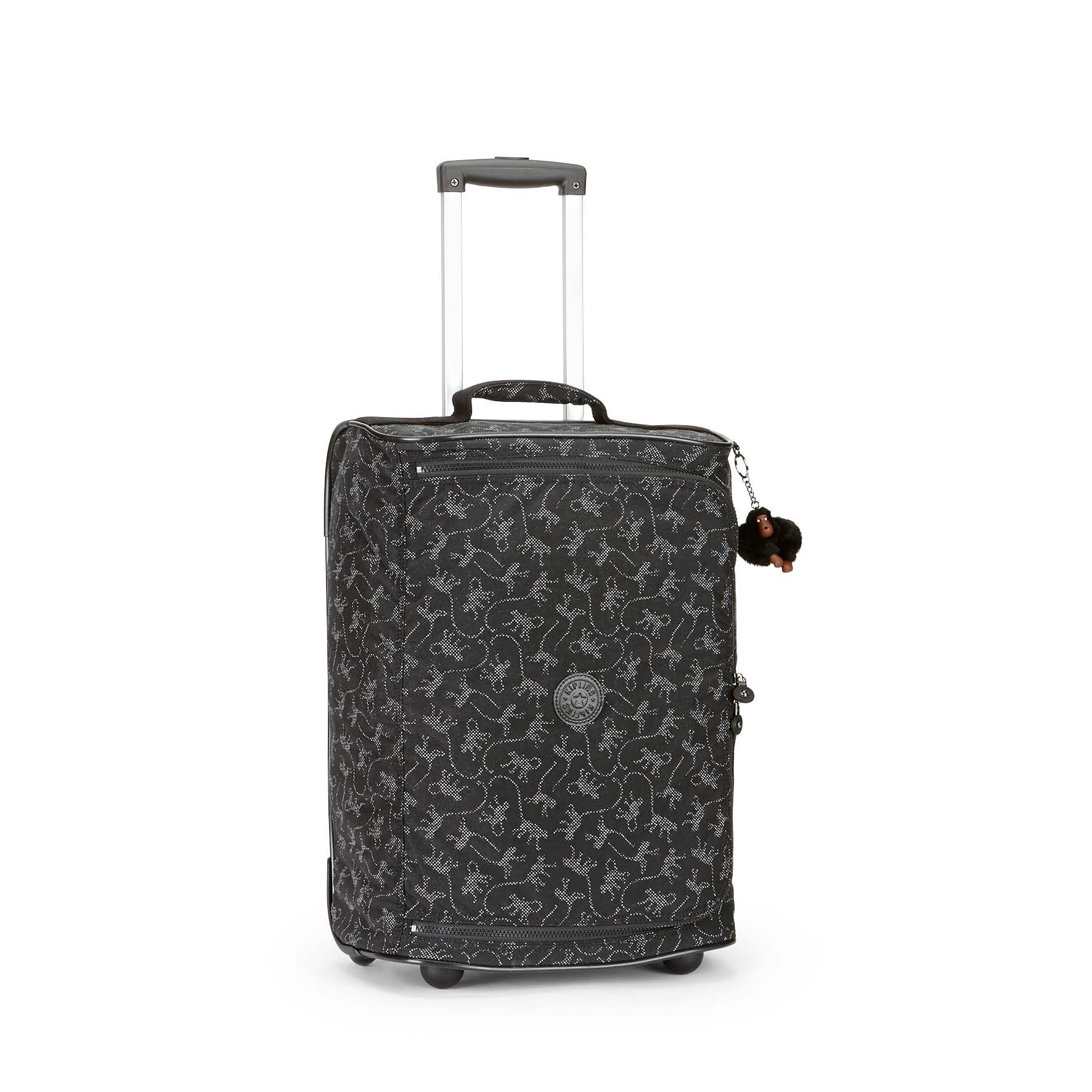 Kipling Teagen extra small wheeled duffle bag Black