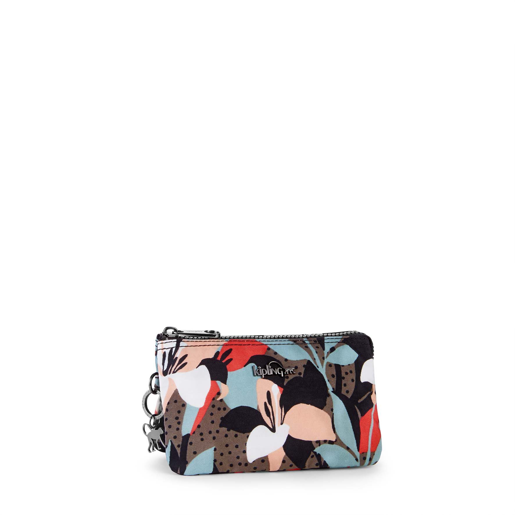 Kipling Creativity large purse Graphic Floral Print