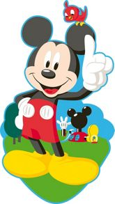 Graham & Brown Mickey Foam Wall Decor