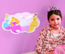 Princess Foam Wall Decor
