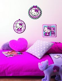 Graham & Brown Hello Kitty Foam Elements 3pcs