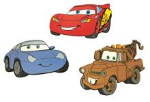 Cars Foam Elements 3pcs