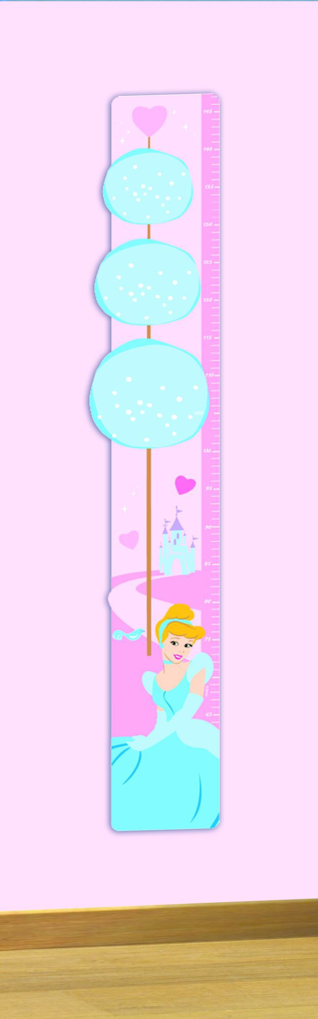 Princess Foam Growth Chart