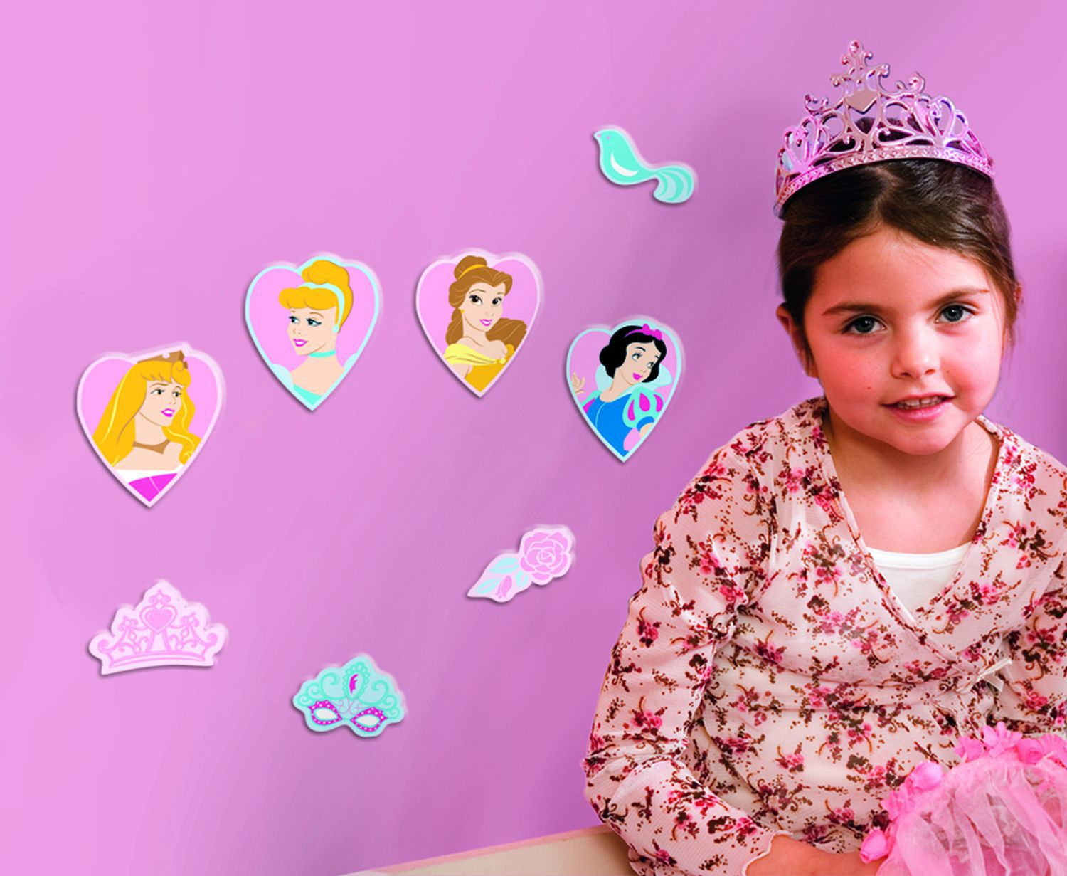 Princess Mini Foam Elements 24pcs