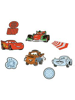 Cars 2 Mini Foam Elements 24pcs