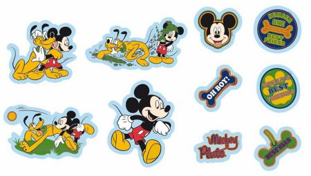 Graham & Brown Mickey Mini Foam Elements 10pcs