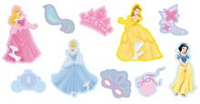 Princess Mini Foam Elements 10pcs