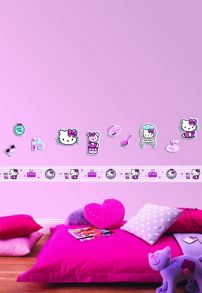 Graham & Brown Hello Kitty Mini Foam Elements 10pcs