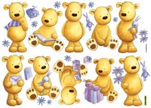 Graham & Brown Bears Wall Stickers