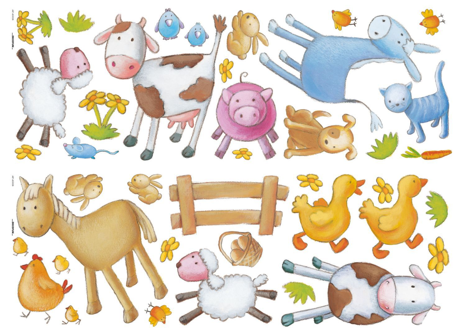 Graham & Brown Animal farm wall sticker