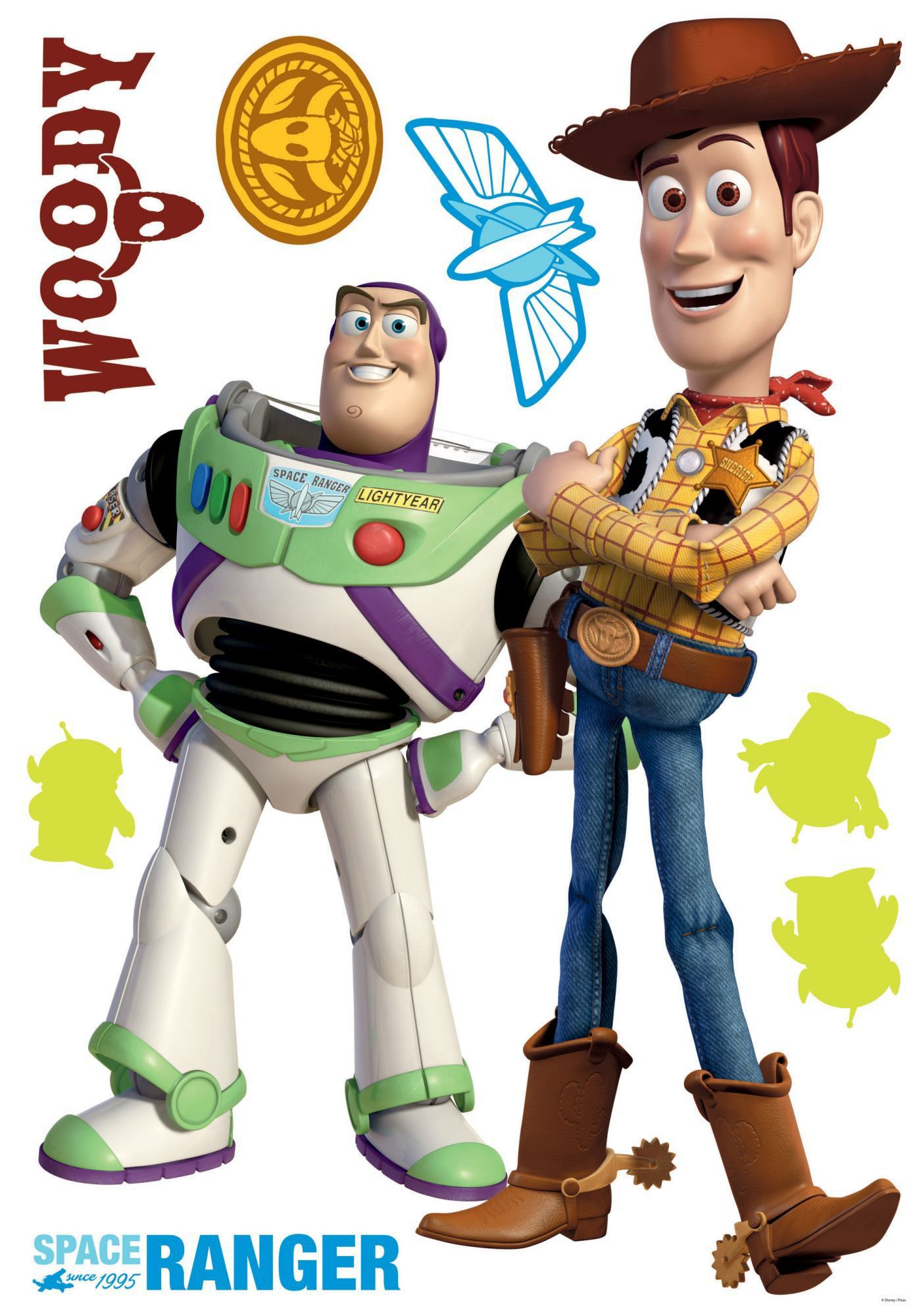 Toy Story Maxi Sticker