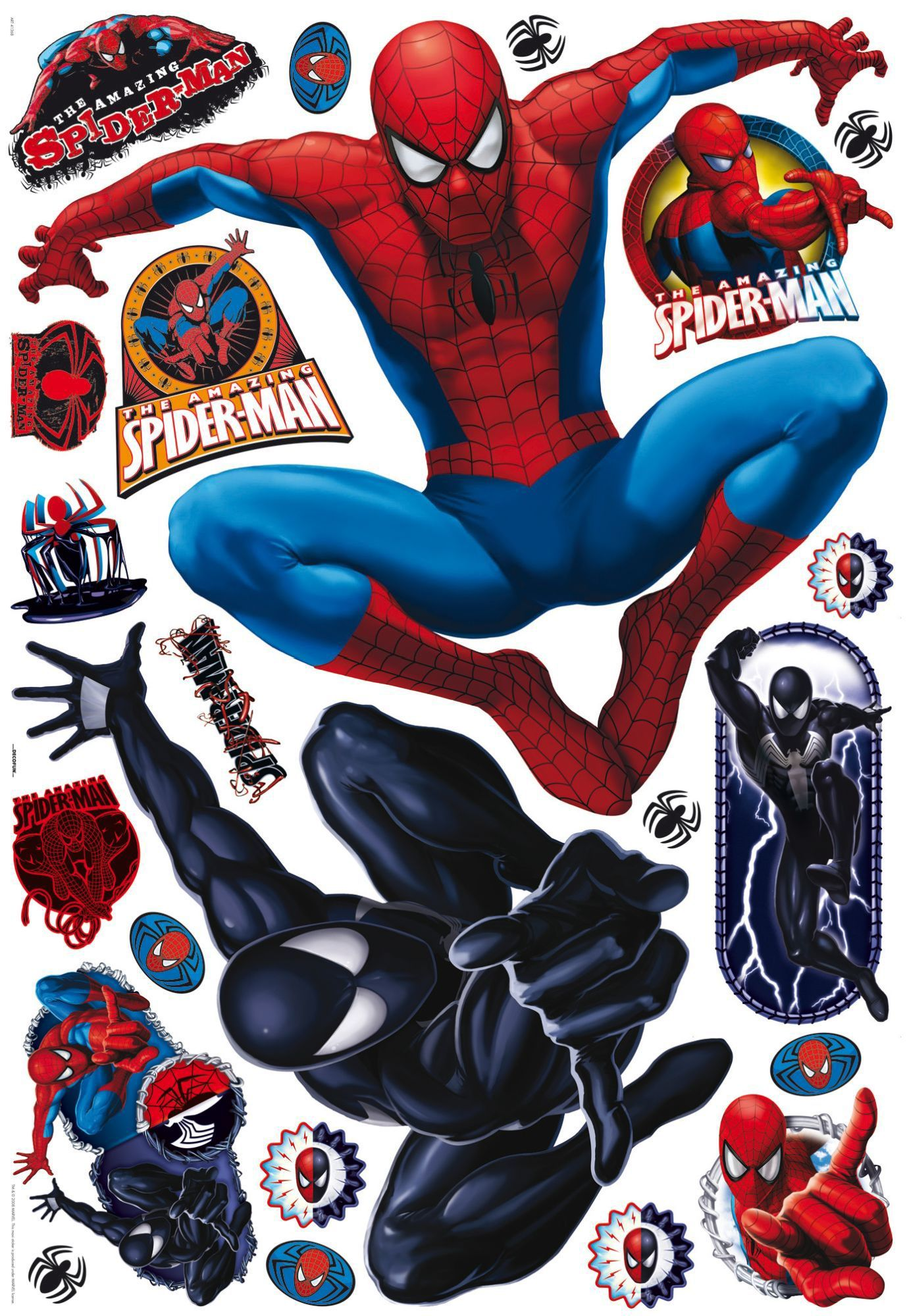 Spiderman Maxi Sticker