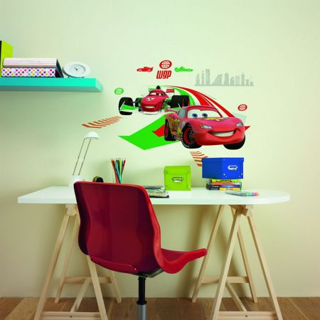 Cars 2 Large Wall Sticker