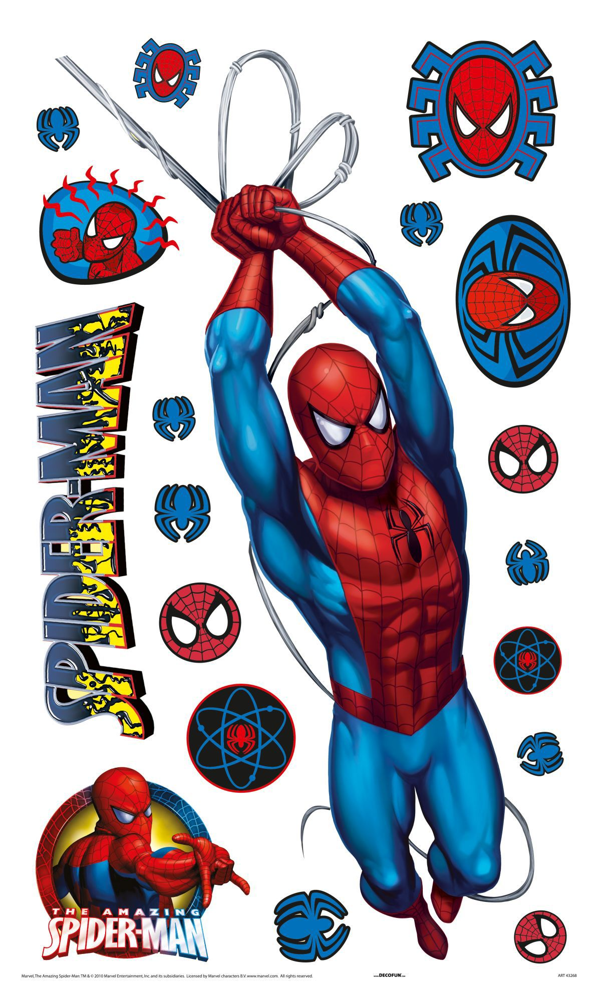 Spiderman Large Wall Sticker