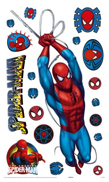 Graham & Brown Spiderman Large Wall Sticker