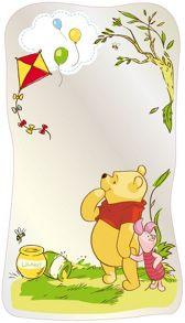 Graham & Brown Winnie the Pooh Mirror Large