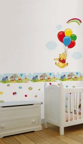 Graham & Brown Pooh Bother Free Day Wallpaper