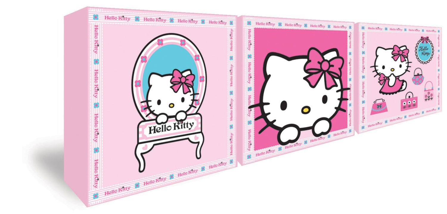 Hello Kitty Set of 3 Box Art