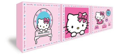 Graham & Brown Hello Kitty Set of 3 Box Art