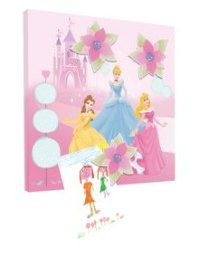 Princess Magnetic Canvas (30x30cm)