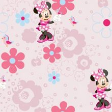 Minnie`s Spring Walk Wallpaper