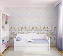 Graham & Brown Lilac Disney Fairytale Girls Bedroom Wallpaper