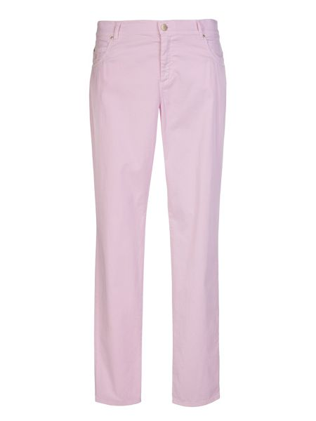 Xandres xline Plus size coloured 5 pocket stretch trousers