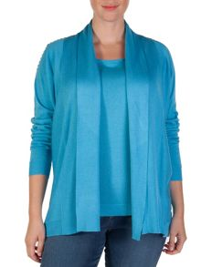Xandres xline Luxurious cardigan in silk and cotton