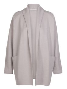 Xandres xline Boiled wool cardigan