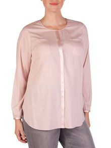Stretchy silk blouse