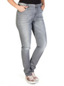 Xandres xline 5 pocket stretched jeans
