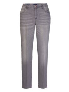 Xandres xline Grey 5 pocket stretch trousers
