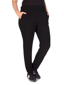Xandres xline Easy fitting pull-up trousers