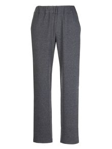 Embellished cotton jogging trousers
