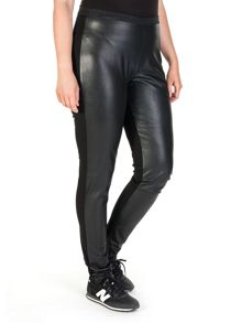 Xandres xline Faux-leather leggings