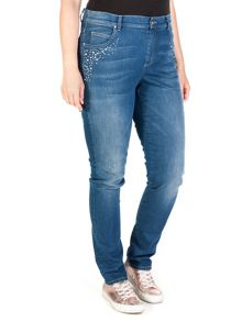 5 pocket stretch jeans
