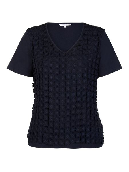 Xandres xline Blouse With Lace