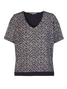 Xandres xline Printed Top
