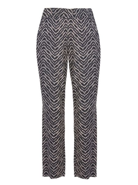 Xandres xline Pull-On Jacquard Trousers
