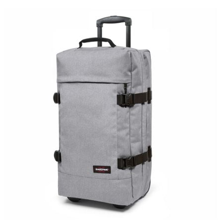 Eastpak Tranverz medium sunday grey wheeled suitcase