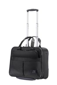 Samsonite City vibe black rolling tote 16